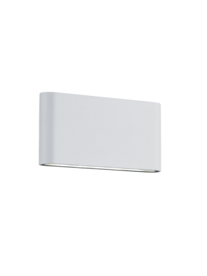 Aplique de pared de Exterior led Thames II Blanco