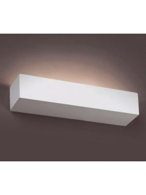 Aplique de pared Escayola Blair - Rectangular Blanco
