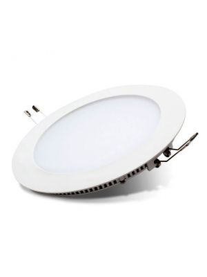Downlight LED redondo empotrable 12w Alum - 6500K