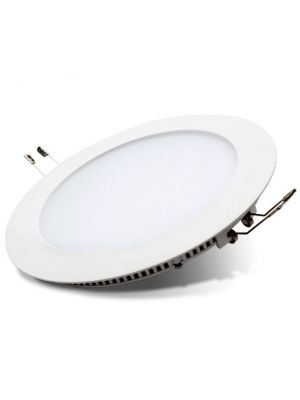 Downlight LED redondo empotrable blanco para cocina