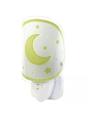 Lampara Infantil LED Quitamiedos Luna Amar. - Enchufe