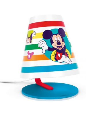 Lampara de mesa Infantil Mickey Mouse LED