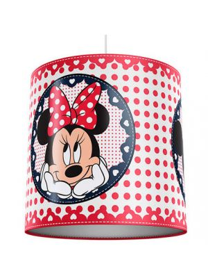 Lampara Infantil Techo Minnie Mouse Disney Pantalla
